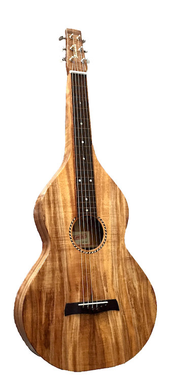Iseman Koa Weissenborn Style Guitar | Honolulu - Hawaii *SOLD*